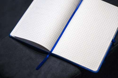 notebook notepad paper business office