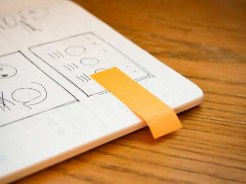 notebook mockups sketch design creative
