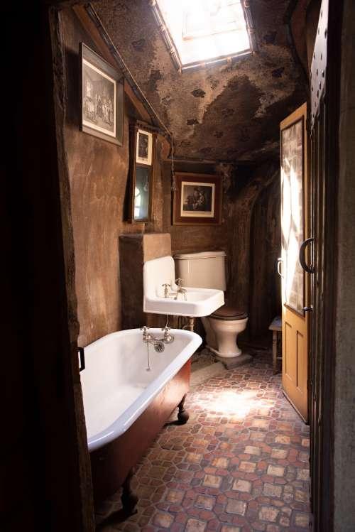 antique bathroom house bath sink
