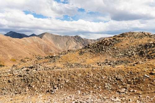 dramatic textures rocky mountains rocks desert