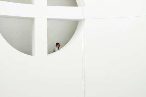 white wall door design people