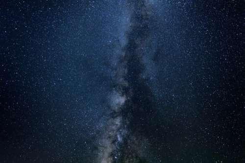 stars galaxy milky way space sky