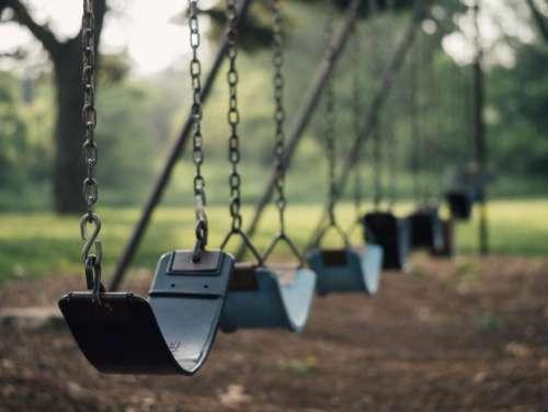 swing park fun nature