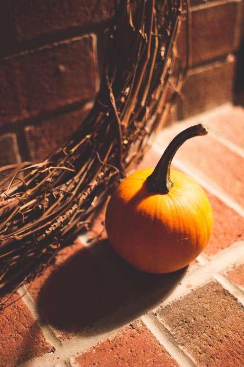pumpkin halloween bricks