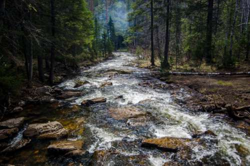 nature landscape water river lake