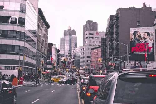 city buildings structures architecture pedestrian