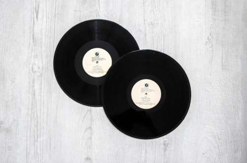 vinyl record album music round