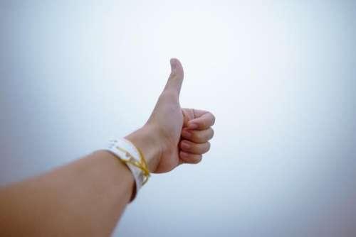 arm hand bracelet finger thumb