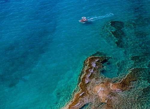 sea ocean blue water wave