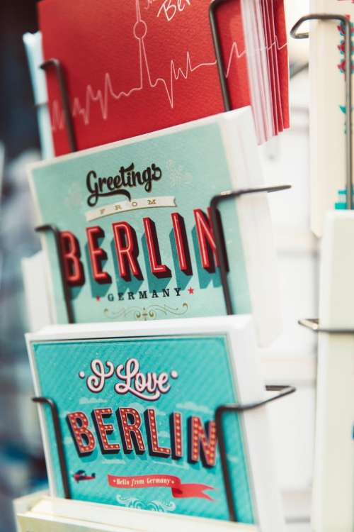 book germany bookstore blue rack