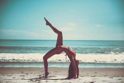 yoga pose stretch health fitness