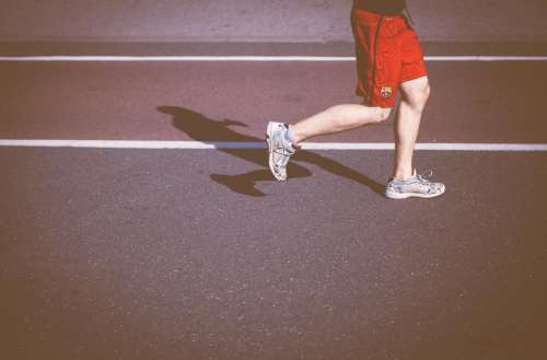 people man jogging health exercise