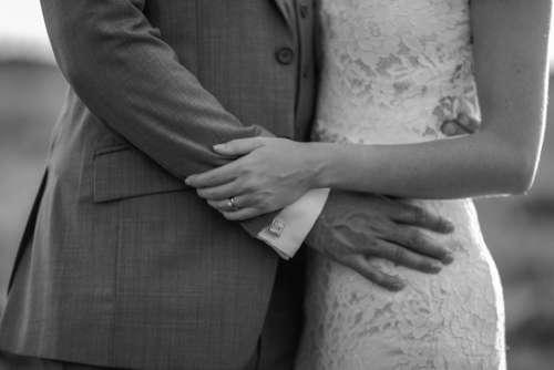 man woman wedding bride groom