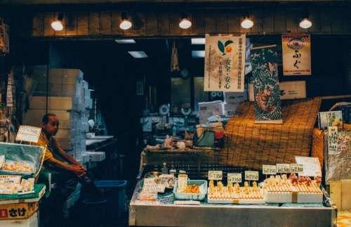 places market people store man