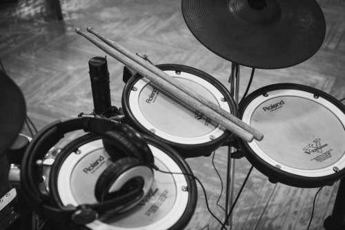 electric drum set musical instrument