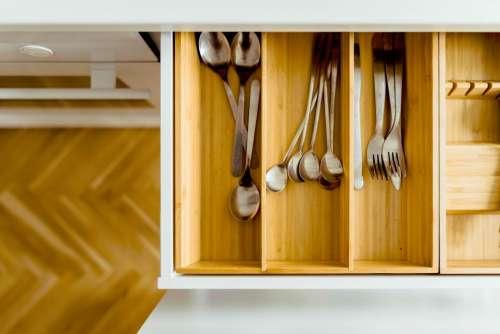 house kitchen interior utensils spoon