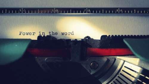 typing typewriter writer writing words