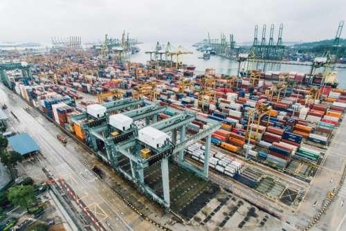 container van export travel cargo