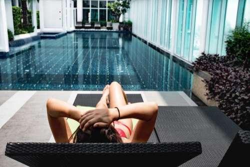 lifestyle swimming people girl woman