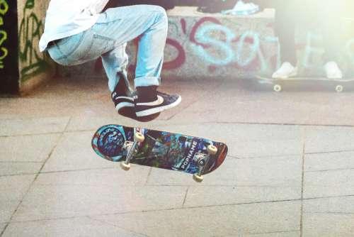 skateboard street man sneakers nike