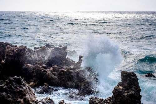 sunny summer sea ocean blue