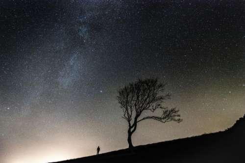 stars galaxy space astronomy night