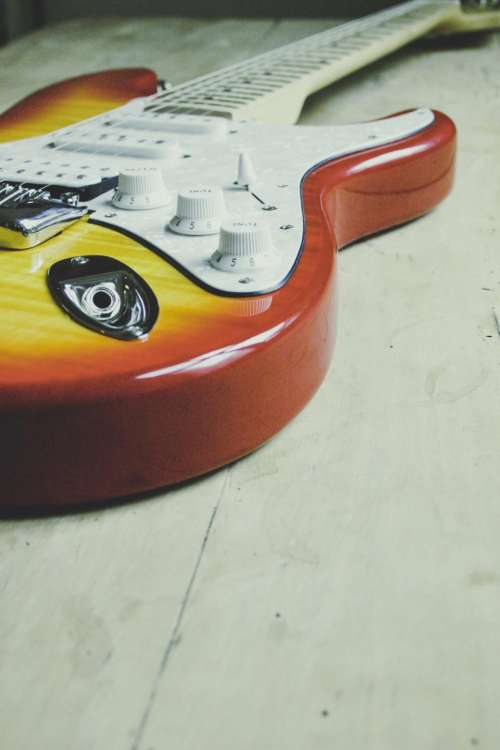 electric guitar strings musical instrument