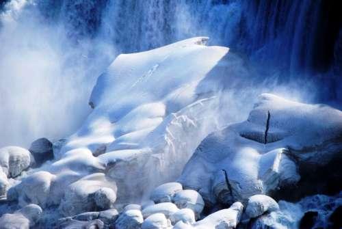 rocks white ice iceberg snow