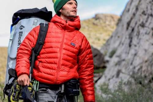people man guy traveler hike