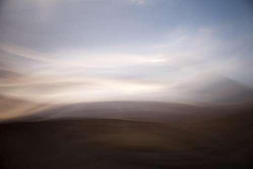 highland desert landscape sand outdoor
