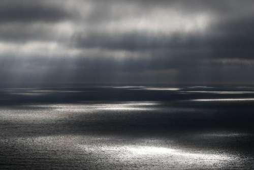 sea ocean water nature dark