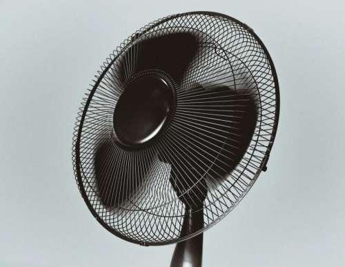 black fan air objects