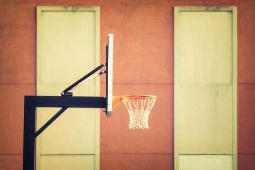 basketball hoop outdoors sports athletics