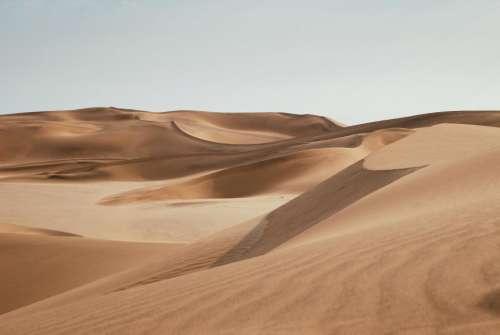 desert sand adventure travel sky