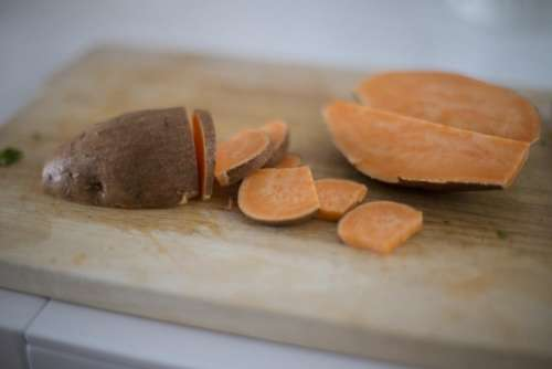 sweet potato root vegetable food