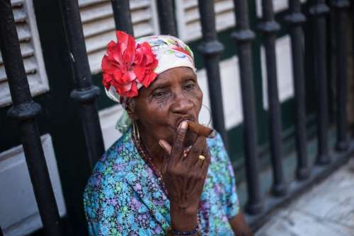 people old woman grandmother tobacco