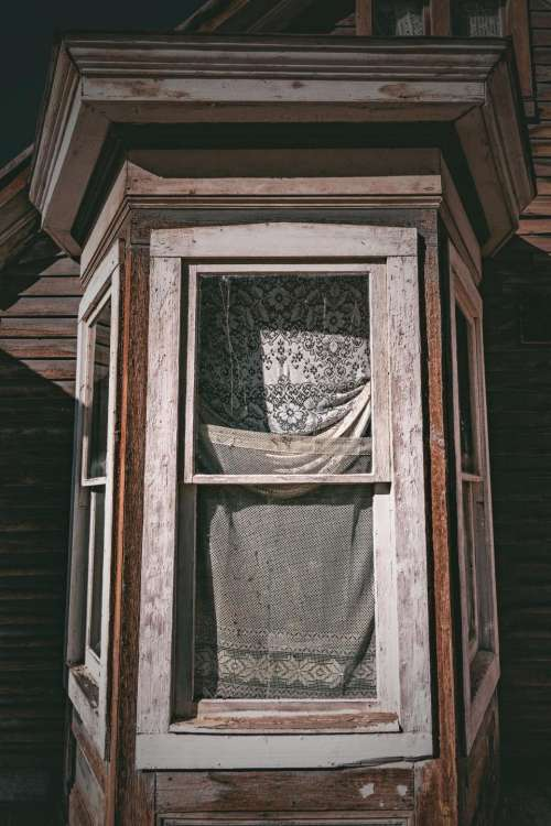 house home window wood curtain