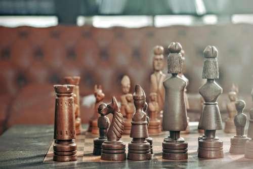 mind games chess sculpted sculpture