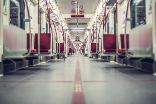 train station subway empty floor