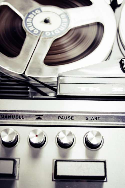 technology audio record player vinyl