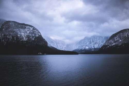 nature landscape mountain water ocean