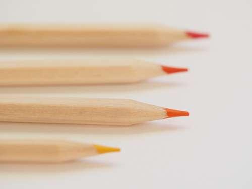 sharp colored pencels design art