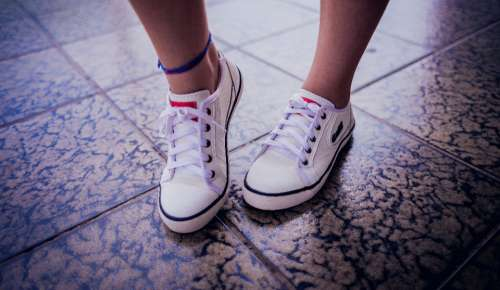 white sneakers dancing shoes fashion