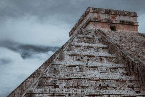 coba mayan ruins mexico pyramid