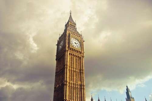 clock tower london uk gb