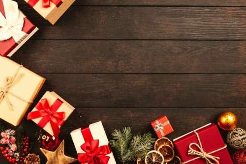 gift box Christmas present celebration