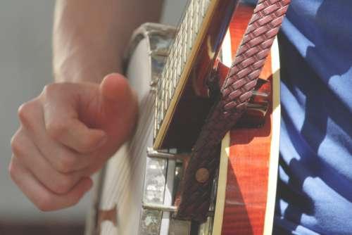 music guitar play banjo string