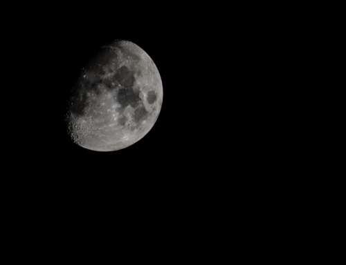 nature sky night moon light