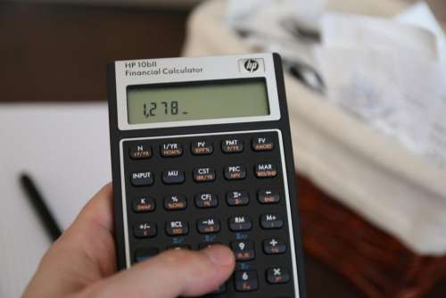 calculator math finance school education