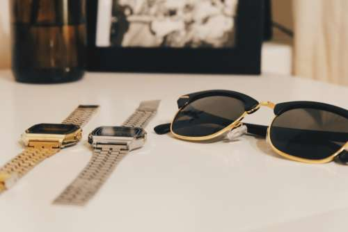 sunglasses watches time style accessory
